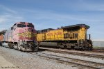 BNSF 542, UP 6393
